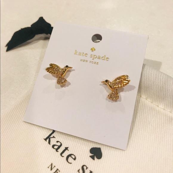 kate spade Jewelry - Kate Spade ♠️ Hummingbird Earrings